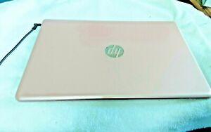 hp 17.3 pink flower design touch screen  laptop