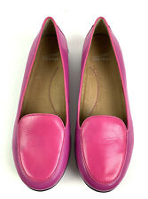 Dansko Shoes Womens 38 Nastacia Pink Two Tone Leather Loafer Slip On