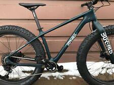New Borealis Crestone Carbon Fat Snow Bike Size Medium 27.5 wheels