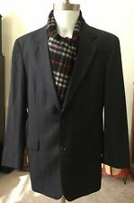 HUGO BOSS Men' Blazer coat jacket Size 38 Regular Color-Gray Excellent condition
