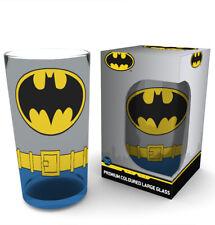 Batman Comics Costume Wrap Coloured Large Glass Superheroes Pint