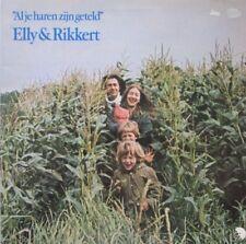 ELLY & RIKKERT - AL JE HAREN ZIJN GETELD  -  LP
