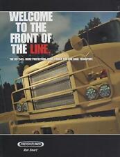 FREIGHTLINER M915A5 2013 TRACTOR US ARMY MILITARY BROCHURE PROSPEKT FOLDER