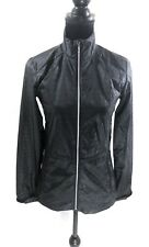 LADY HAGEN Women's Size XS Wind Rain Jacket Golf Sports Black Athletics