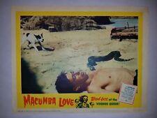 VINTAGE LOBBY CARD 1960 Macumba Love Voodoo Queen