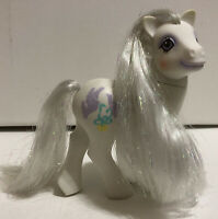 My Little Pony G1 Pony Bride White Doves Tinsel Hair VTG 1989 Wedding