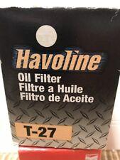 2- HAVOLINE T-27 engine oil filter