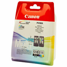 New Canon Original PG510/CL511 Combo Inkjet Pack - Black and Colour (2970B010)