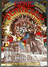 Ozric Tentacles Jurassic Shift 1993 German Tour Poster