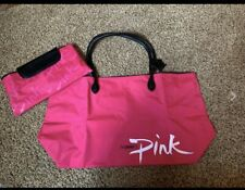 New Large Power Of Pink Shoulder Tote Bag  Large Travel Leisure- 2 in One Bag