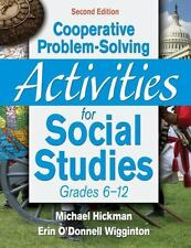 Cooperative Problem-Solving Activities for Social Studies, Grades 6-12-ExLibrary
