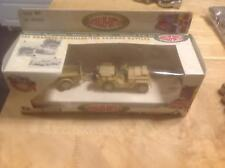 Solido Die Cast WWII Desert Willys Jeep w/ Trailer 6108 Famous Battles Metal Toy