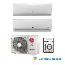 Climatizzatore LG Inverter Standard Dual Split 12000 12000 12 12 BTU Mu2r17 a