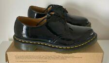 Dr. Martens 1461 ladies Black Patent lamper leather lace-up shoes UK 6 / EU 39
