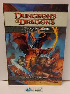 Gioco di Ruolo Game Manual Manuale Dungeons & Dragons D&D - Il Piano Inferiore -