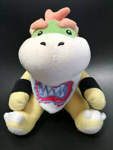 Official Sanei Super Mario Bowser JR. Plush Nintendo Japan Rare 2011