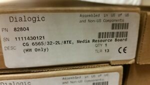 Dialogic NMS CG6565/32-2L/8TE -NEW FACTORY SEALED(82804) *15 UNITS AVAILABLE*
