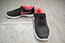 **Nike Kids' Revolution 4 943307-004 Running Shoe, Little Girl's Size 2, Black