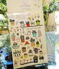 Garden Flowers Sticker Scrapbooking Cardmaking floral DIY Diary Art Craft Phone