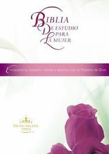 NEW - Biblia de estudio para la mujer (Spanish Edition) by Thomas Nelson