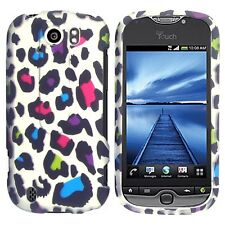 Rainbow Leopard Case Cover T-Mobile myTouch 4G Slide