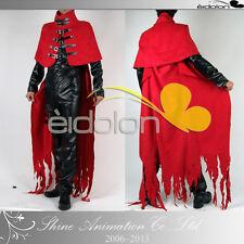 Final Fantasy VII FF7 Vincent Valentine COSPLAY COSTUME