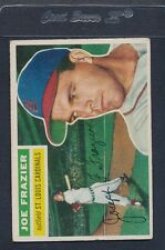 1956 Topps GB #141 Joe Frazier Cardinals VG/EX *752