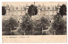 CPA stéréoscopique - 37- MONTRESOR (Indre et Loire) - 15. Le Château - LL