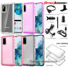 For Samsung Galaxy S20 /S20 Plus/ S20 Ultra Clear Hard Case Cover with Accessory