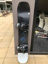 Burton Custom - 158cm w/burton mission bindings