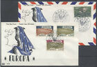 EUROPA CEPT FDC 1962 MONACO 1 - POSTE + POSTE AERIENNE
