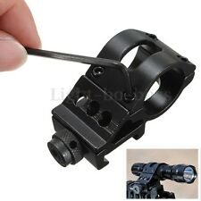 1 Inch 25mm Flashlight Torch Scope Mount Weaver Suit For 20mm Picatinny Rail
