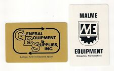 2 playing cards, collect/swap jokers, Malme, General Equipment Supplies, ND