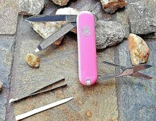 Victorinox Classic Sd Pink Orignal Swiss Army Knife 53005 New! Authentic