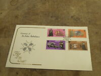 Cotswold 1977 Jersey FDC / First Day Cover - St John Ambulance centenary