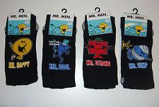 Men's/youths MR MEN socks in 6 designs