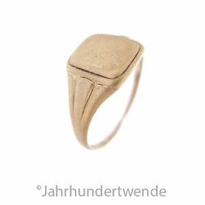 Antiker Jugendstil Doublé Fingerring um 1910 antique Art Nouveau ring 🍀🍀🍀