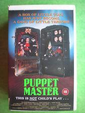 PUPPET MASTER  (EV)  -    BIG BOX ORIGINAL RARE & DELETED