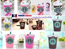Coque iPhone Samsung 3D Starbucks Ice Cream café Cup Protection ETUIS HOUSSE