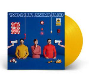 Two Door Cinema Club False Alarm yellow vinyl signed limited edition new rare