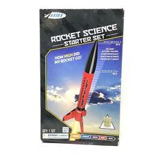 Estes Rocket Science Starter Kit. STEM Kit Altitude Tracker 3 Engines New 10+