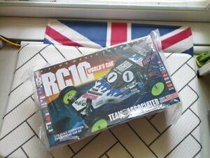 Rare TEAM  Associated RC10 Worlds Car NIB Re-release(Kinwald,YZ10)with FREE GIFT