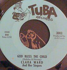 Crossover Soul Gospel 45 Clara Ward Bless the child/build a mountain Tuba 2002