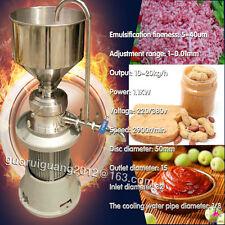 Jml-50,milk,cheese,ch 00004000 ocolate,peanut butter grind colloid mill machine,big hopper