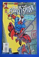 WEB OF SPIDER-MAN #1 VIRTUAL MORTALITY Modern Age Comic Book 1995 ~ MINT !!!