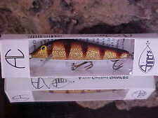 "AC Model 300 Shiner 3"" Balsa Shallow Minnow 1/4oz Freshwater in Color GOLD PERCH"