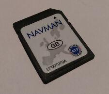 AF256HMP Navman PiN570 GPS Receiver Sat Nav UK Maps SD Card UP007070A