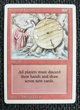 Vintage Magic | MTG Revised/3rd Edition Wheel of Fortune, NO RESERVE!!!