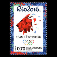 "Luxembourg 2016 - Olympic Games ""Rio de Janeiro"" Sports - Sc 1427 MNH"