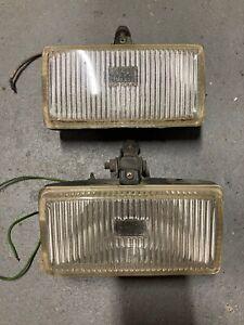 porsche 911 930 fog lights BOSCH L R PAIR 74-83